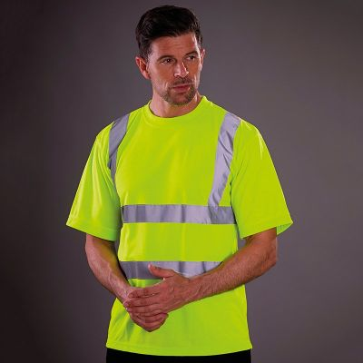 Yoko Hi-vis short sleeve t-shirt- Plus Sizes