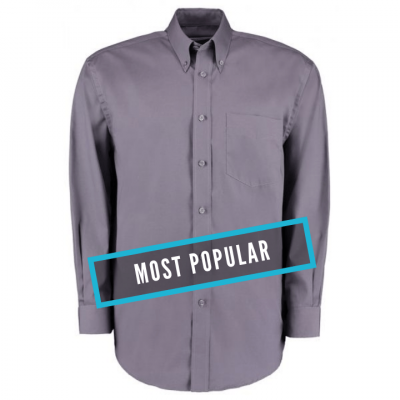 Kustom Kit Corporate Oxford shirt long sleeved