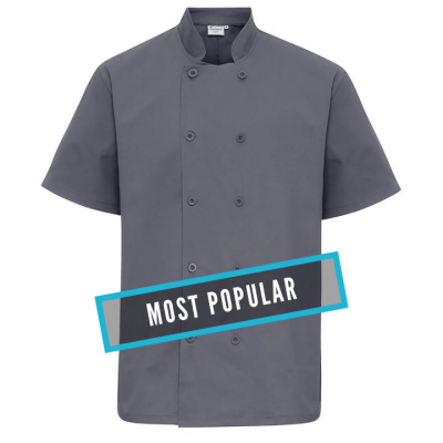 Premier Short sleeved chef's jacket