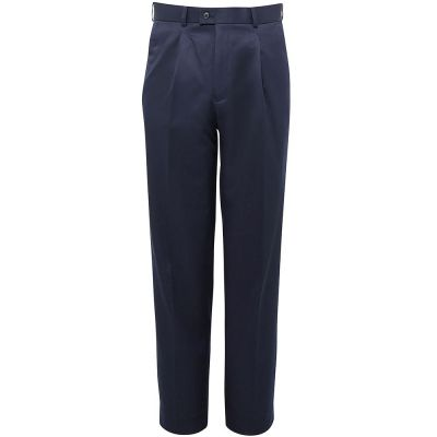 Brook Taverner Delta single pleat trousers