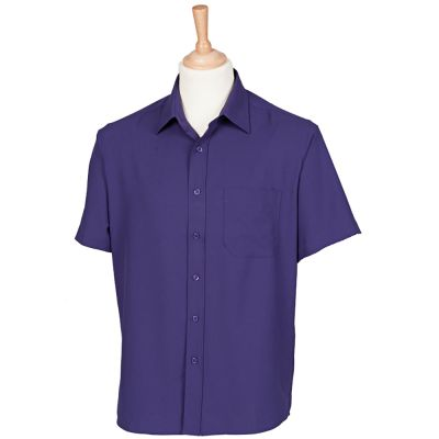 Henbury Wicking antibacterial short sleeve shirt