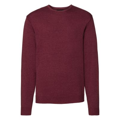 Russell Collection Crew neck knitted pullover