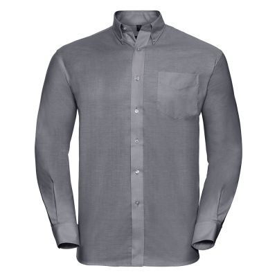 Russell Collection Long sleeve Easycare Oxford shirt