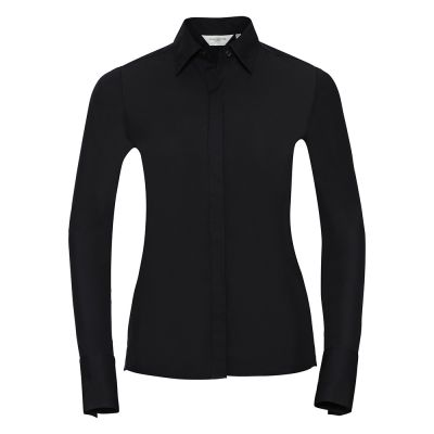 Russell Collection Women's long sleeve ultimate stretch shirt