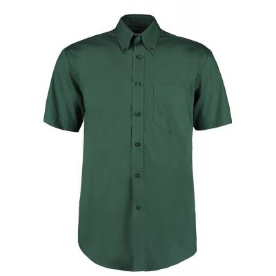 Kustom Kit Corporate Oxford shirt short sleeved- Plus Sizes