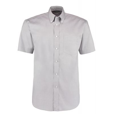Kustom Kit Corporate Oxford shirt short sleeved