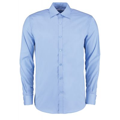 Kustom Kit Slim fit business shirt long sleeve