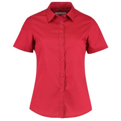 Kustom Kit Women's poplin shirt short sleeve
