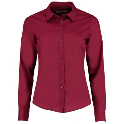 Kustom Kit Women's poplin shirt long sleeve