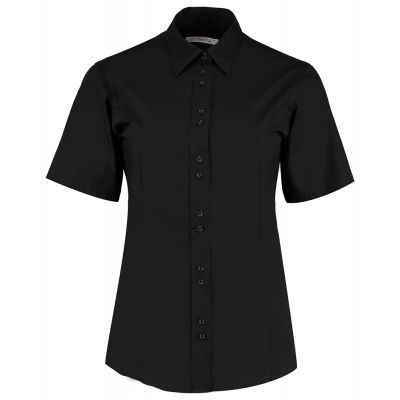 Kustom Kit Women's city business blouse short sleeve