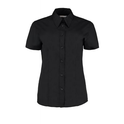Kustom Kit Women's workforce blouse short sleeved