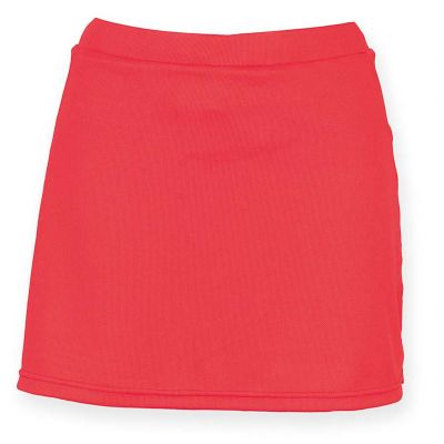 Finden & Hales Women's skort with wicking finish