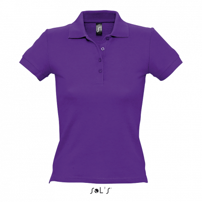 SOL'S People Women 100% Cotton Pique Polo Shirt