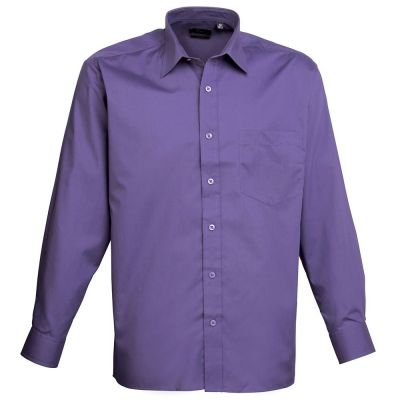Premier Long Sleeve Poplin Shirt- Plus Sizes