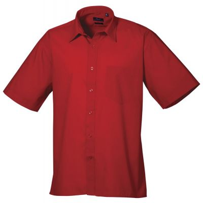 Premier Short Sleeve Poplin Shirt- Plus Sizes