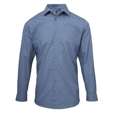 Premier Cross-Dye Roll Sleeve Shirt