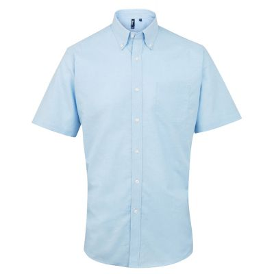 Premier Signature Short Sleeve Oxford Shirt