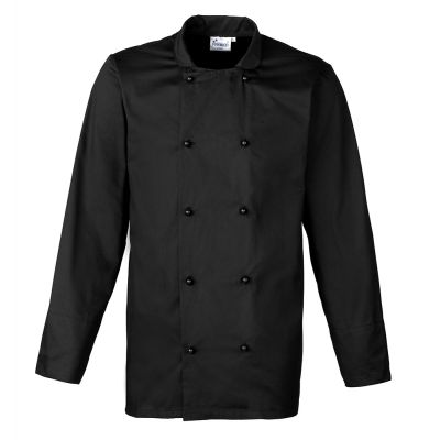 Premier Cuisine long sleeve chef's jacket