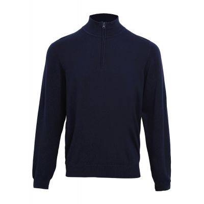 Premier 1/4 zip knitted sweater
