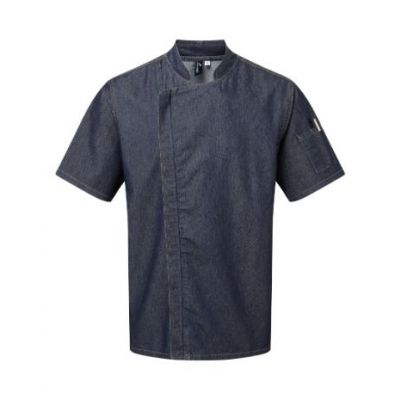 Premier Chef's zip-close short sleeve jacket