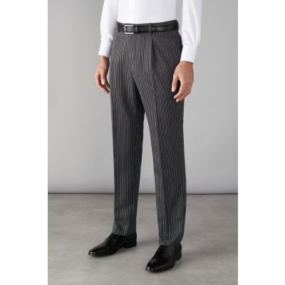Clubclass Principle Grey Stripe Mens Trouser