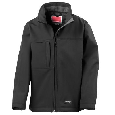 Result Junior classic softshell 3-layer jacket