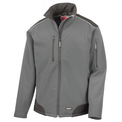 Result Work-Guard ripstop softshell workwear jacket