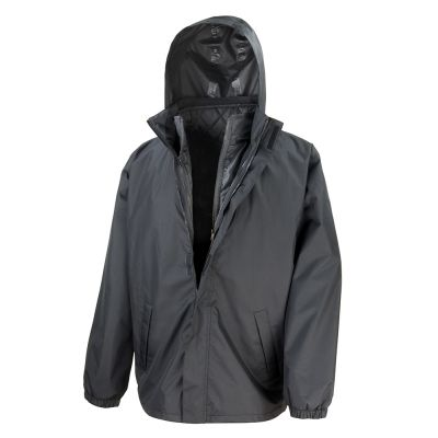 Result Core 3-in-1 jacket with quilted bodywarmer