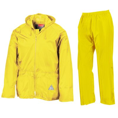 Result Waterproof jacket and trouser set