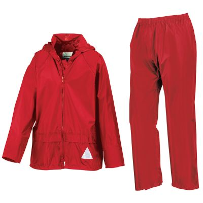 Result Junior waterproof jacket and trouser set