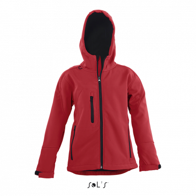 SOL'S Replay Children Hooded Soft Shell Jacket