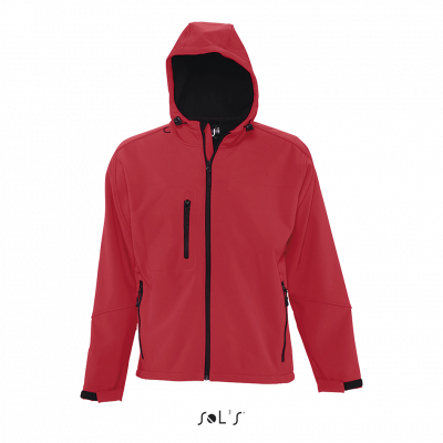 SOL'S Replay Hooded Soft Shell Jacket