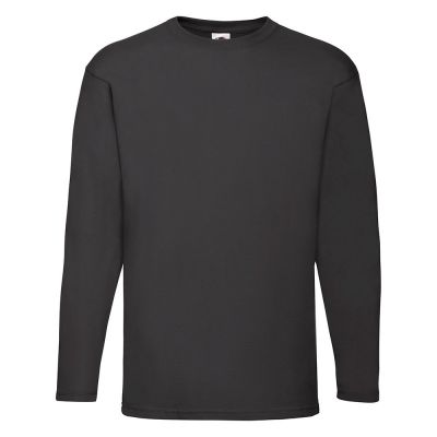 Fruit of the Loom Valueweight Long Sleeve T- Plus Sizes