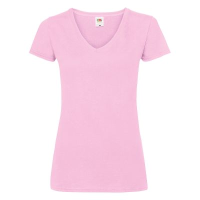Fruit of the Loom Women's valueweight v-neck T