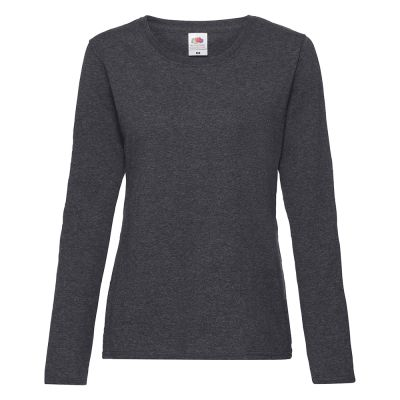 Fruit of the Loom Women's valueweight long sleeve T