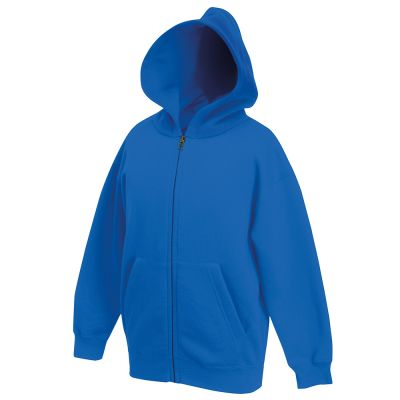 Fruit of the Loom Classic 80/20 kids hooded sweatshirt jacket