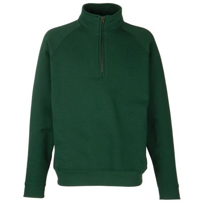Fruit of the Loom Classic 80/20 zip neck sweatshirt
