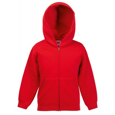 Fruit of the Loom Premium 70/30 kids hooded sweatshirt jacket