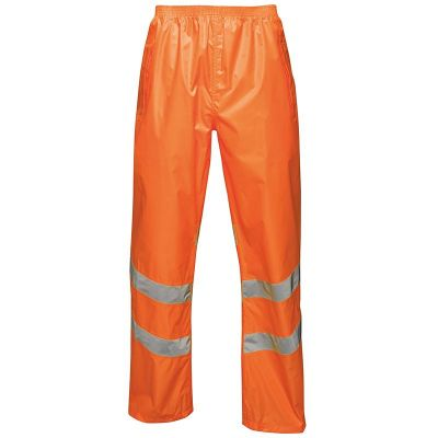 Regatta Professional Hi-vis pro pack-away trousers