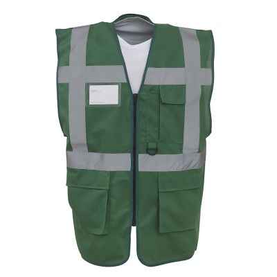 Multi-functional executive hi-vis waistcoat