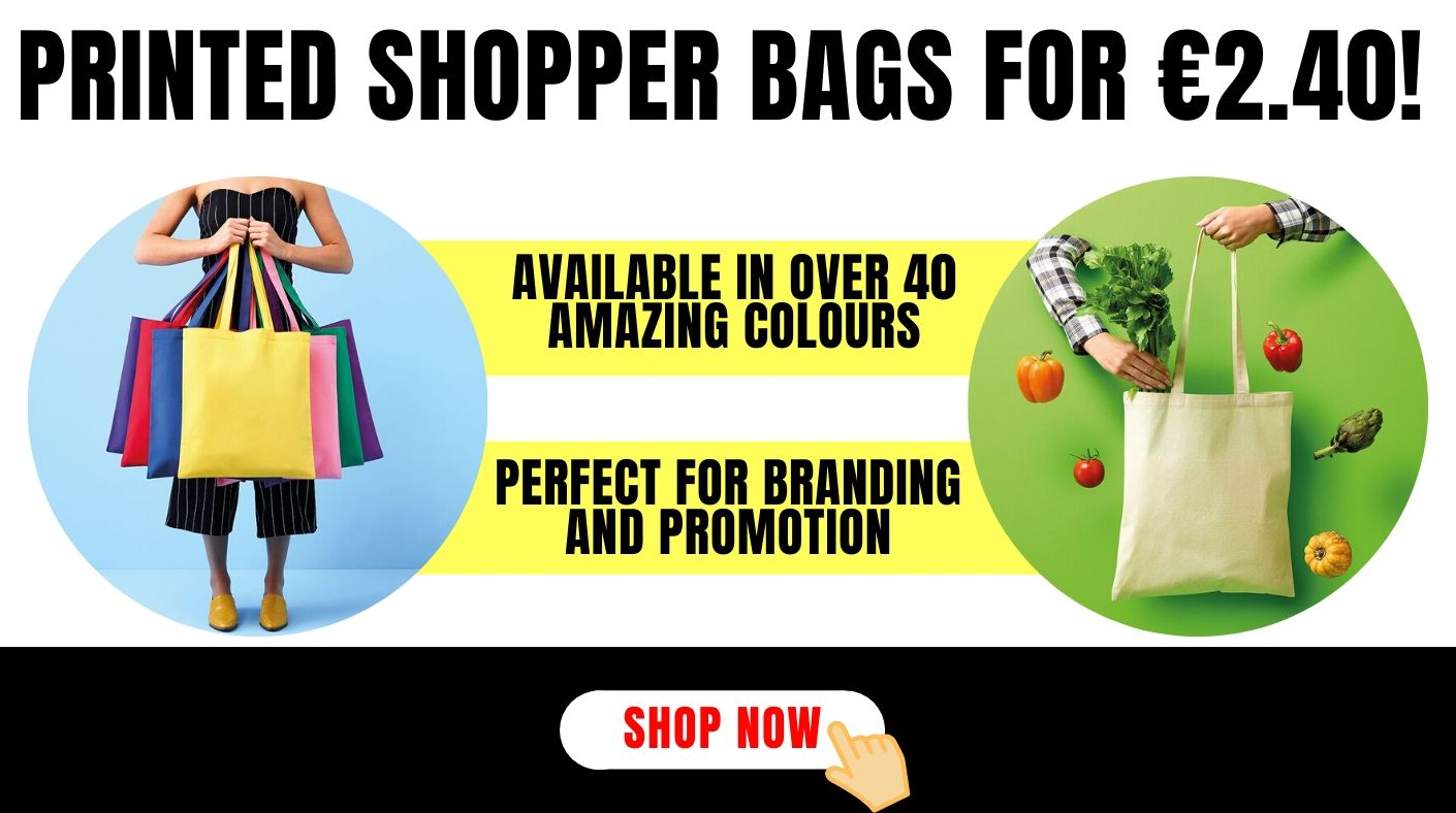 Special price on printed shopper bags