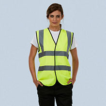 Uneek Sleeveless Safety Waist Coat