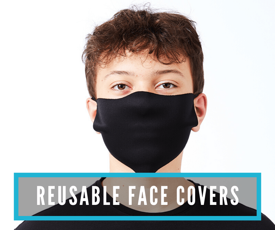 Reusable face cover