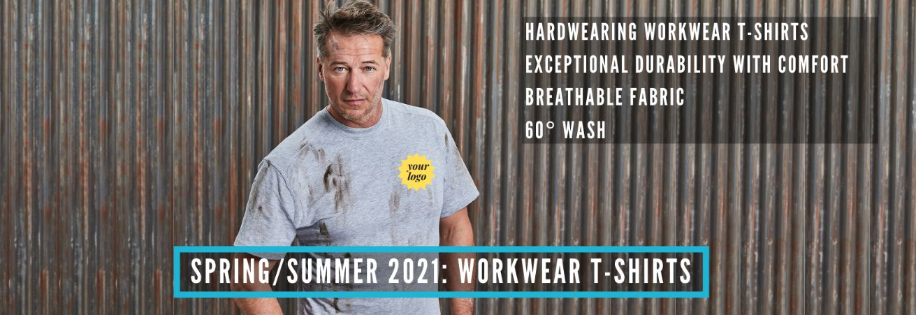 Spring is here- workwear tshirts