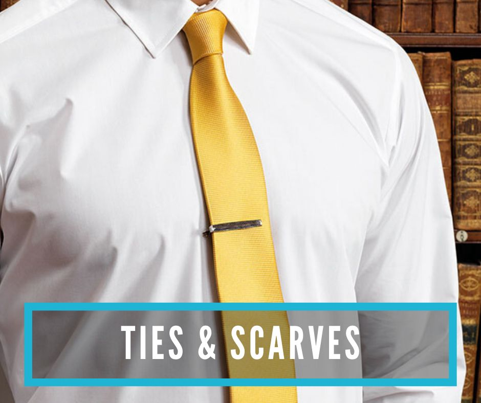 Ties and scarves